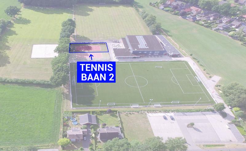 DAR Plattegrond - Tennisbaan 2