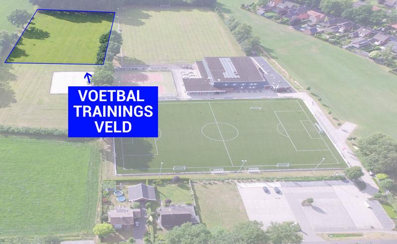 DAR Plattegrond - Voetbal trainingsveld