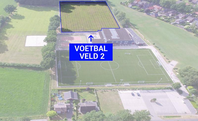 DAR Plattegrond - Voetbal veld 2