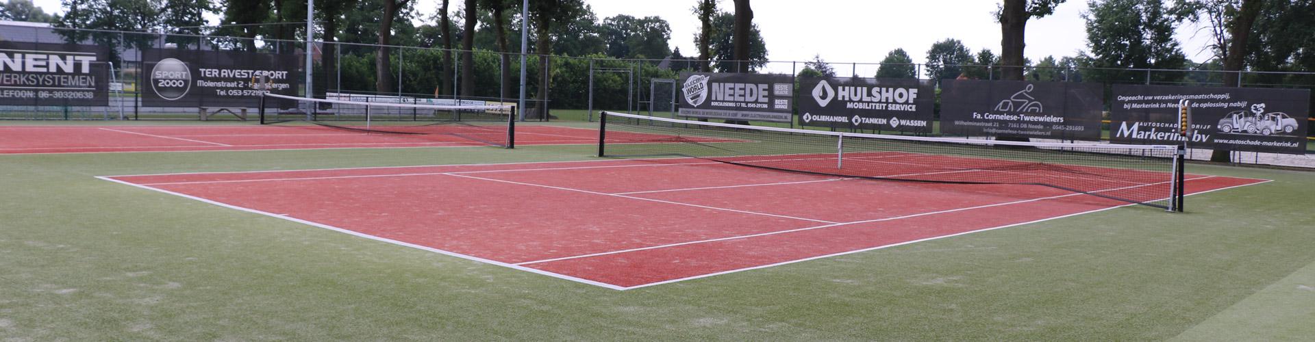 Dorpsaccommodatie Rietmolen - Tennisbaan